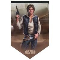 "Star Wars Han Solo 17"" x 26"" Premium Felt Banner"