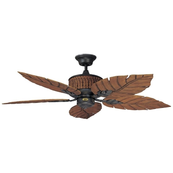 "Concord 52FEB5 Fernleaf Breeze 52"" 5 Blade Indoor / Outdoor Ceiling Fan"