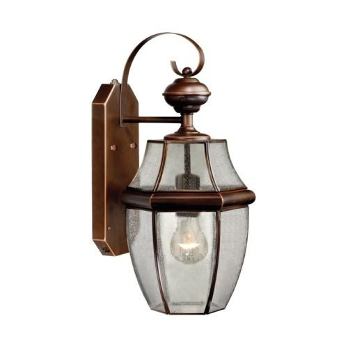 Vaxcel Lighting SR53127 Calvin 1 Light Outdoor Wall Sconce with Photocell and Motion Sensor Included - 5.88 Inches Wide