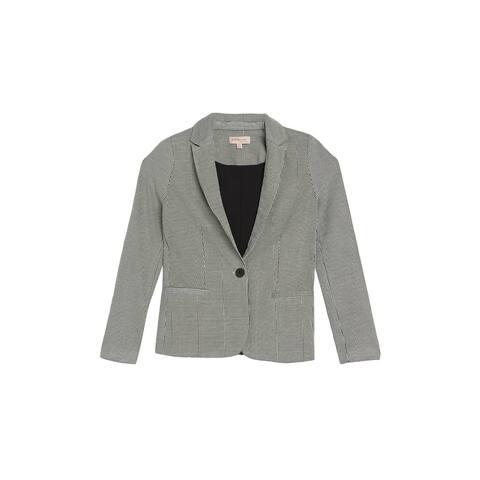 Philosophy Womens Suit Seperates Black Size Large L Blazer Stretch