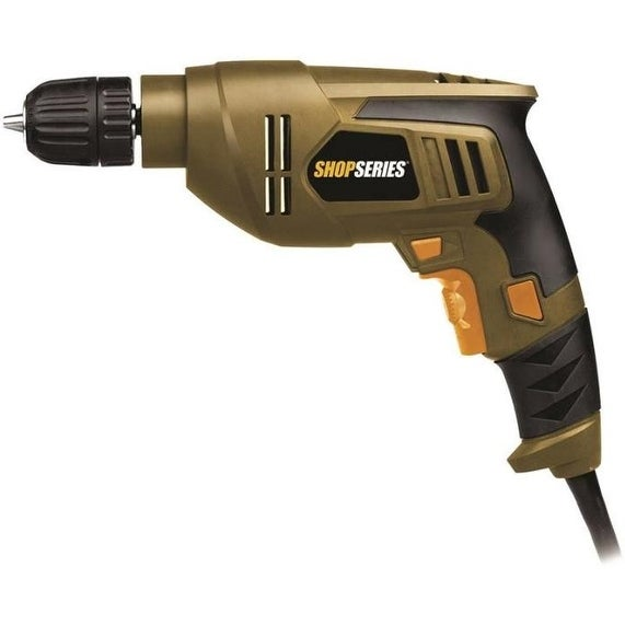 "Shop Rockwell SS3003 ShopSeries Electric Drill, 3/8"", 4.5 ..."