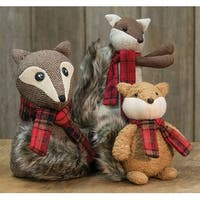 Snuggles Fox Ornament