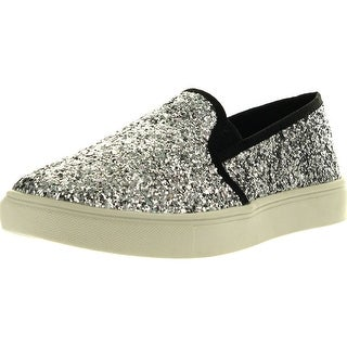 Steve Madden Girls Jecntric Fashion Slip On Sneaker