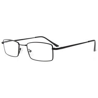 Eyekepper Spring Hinges Reading Glasses with Memory Titanium Bridge