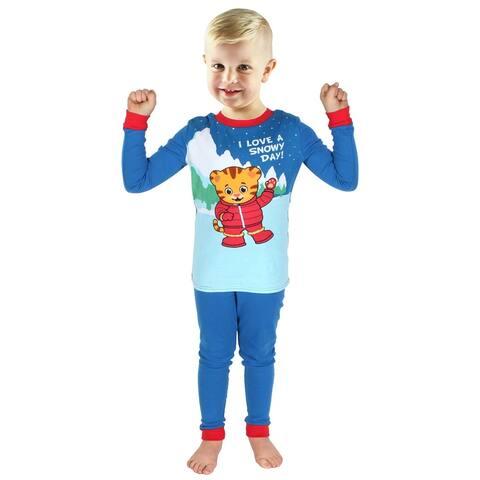 Daniel Tiger's Neighborhood Kids Pajamas Toddler Snug Fit Two Piece Sleepwear Set