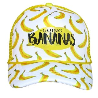 San Diego Hat Company Kids' Going Bananas Trucker Hat with Banana Print
