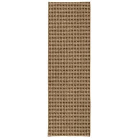 Copper Grove Ngandu Basketweave Indoor/Outdoor Flat-weave Rug