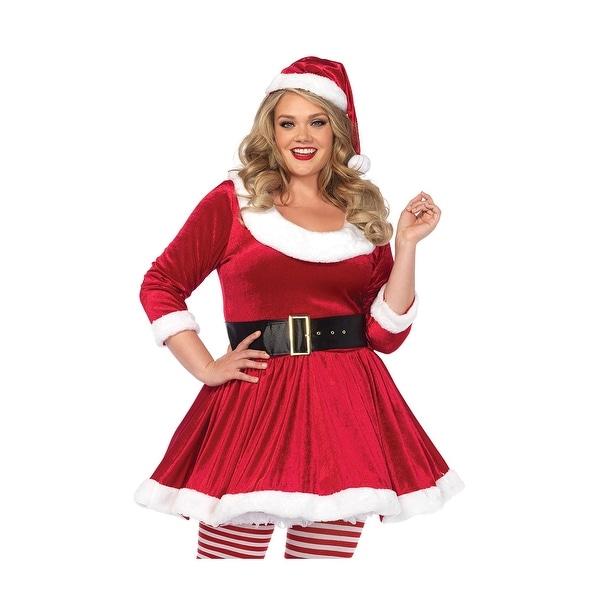 9709d06eed4 Shop Plus Size Santa Sweetie Costume