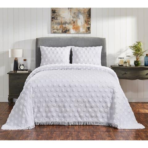Fabstyles Venice Chenille 3 Piece Bedspread Set