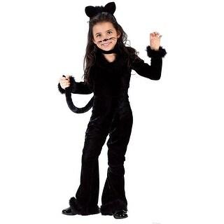 Playful Kitty Costume - Black