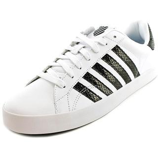 K-Swiss Belmont SO Sake Women Round Toe Canvas White Sneakers