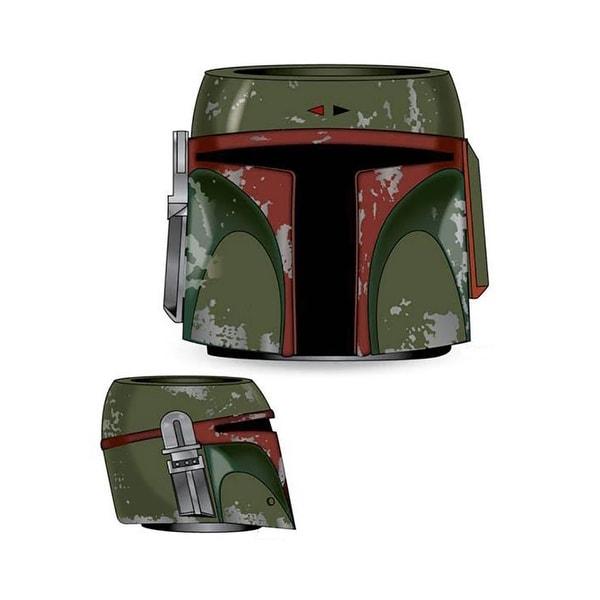 Star Wars Boba Fett Helmet Molded Can Cooler - Multi
