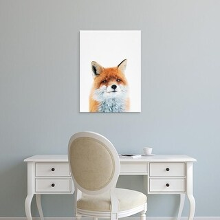 Easy Art Prints Tai Prints's 'Fox' Premium Canvas Art