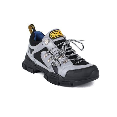 GUCCI Women's Flashtrek Sneaker Shoes Grey/Black