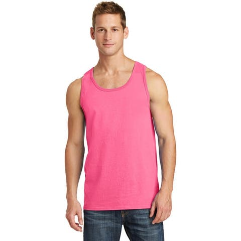 One Country united Men's Core Cotton Tank Top. Assorted Colors