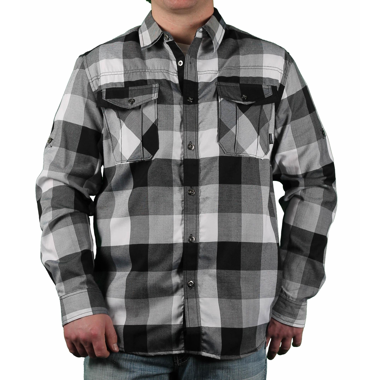 Wardtrobe Mens Yarn Dyed Gingam Checks Half Sleeve Shirt