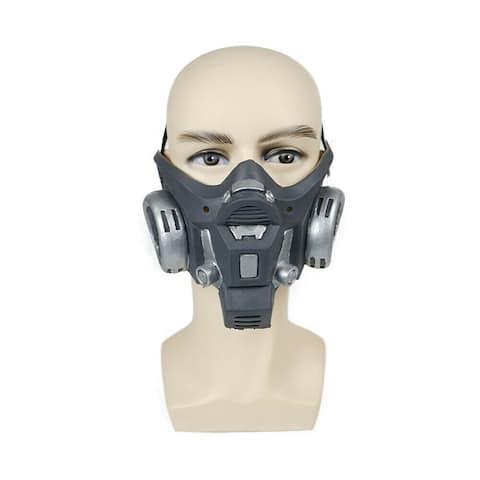 Eraspooky Gothic Half Face Mask Skeleton Ghost Skull Bike Balaclava Steampunk Halloween