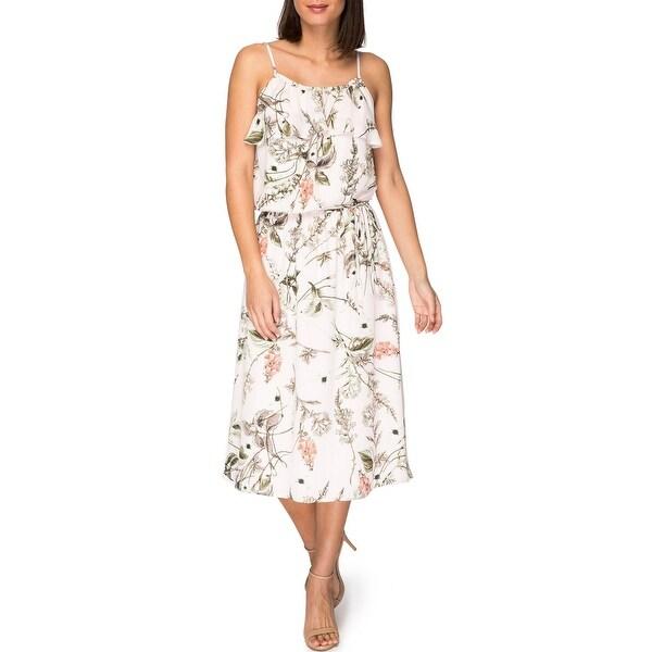 94cb3d8c90 Shop Bobeau Maya Printed Dress - Free Shipping Today - Overstock ...