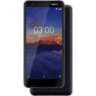 Nokia 3.1 TA-1049 16GB Unlocked GSM Dual-SIM Android Phone w/ 13MP Camera - Black/Chrome (Certified Refurbished)