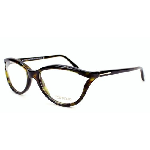 ae24698a0310 Shop Tom Ford Womens Eyeglasses FT5280-056 Havana Brown Cat-Eye Frames -  Free Shipping Today - Overstock - 17678028