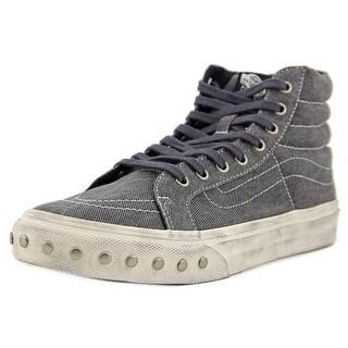 Vans SK8-Hi Slim Men Round Toe Canvas Blue Sneakers