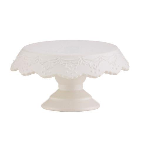 """6"""" White Cake Stand"""