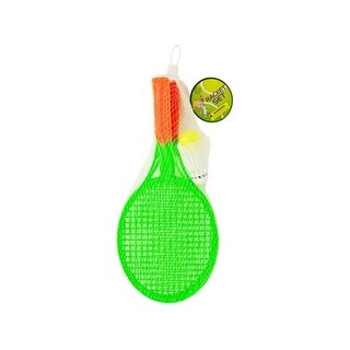 13.5 x 6 in. Kids Racket Set with Ball & Birdie - Pack of 18