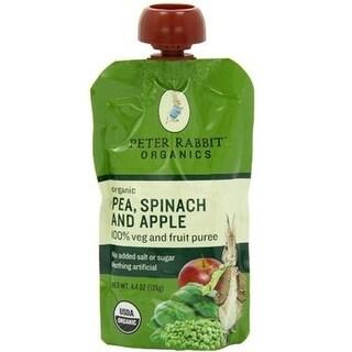 Peter Rabbit Organics - Pea, Spinach & Apple Puree ( 10 - 4.4 OZ)
