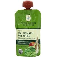 Peter Rabbit Organics - Pea, Spinach & Apple Puree ( 10 - 4.4 OZ)
