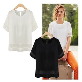 SIMPLE BEAUTY Boutique Blouse In Plus Sizes Too