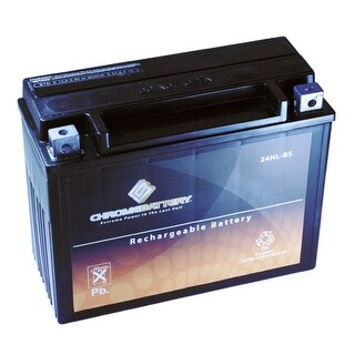24HL-BS Snowmobile Battery for Polaris Wide Track, Year (89-'14)