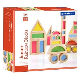 Jr Rainbow Blocks 40 Piece Set