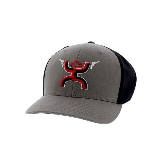 Shop HOOey Hat Mens Baseball Cap Gunner Pull On Hands Up Logo ... 4bbd212c535e