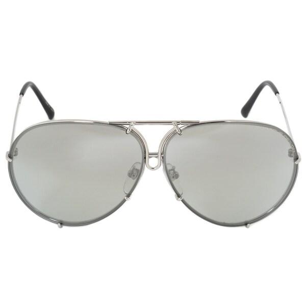 3aa83103d999 Shop Porsche Design Aviator Sunglasses P8978 B 66