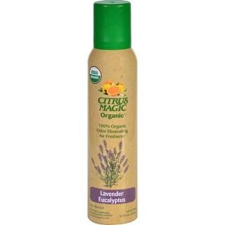 Citrus Magic Air Freshener - Odor Eliminating - Spray - Lavender Eucalyptus - 3.5 oz