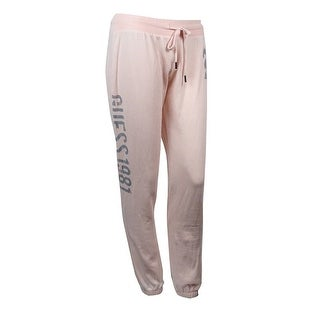 Guess Women's Drawstring Graphic Pants - S
