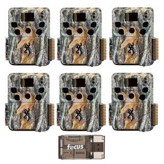 Browning Dark Ops HD Pro 18MP Trail Camera (Camo, 6) with Memory Card Reader - Camouflage
