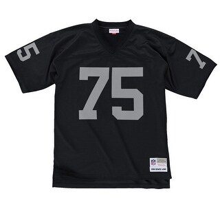 Oakland Raiders Mitchell & Ness 1988 Howie Long #75 Replica Throwback Jersey