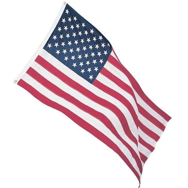 Cotton American Flag Full Size Indoor Patriotic 3' x 5'