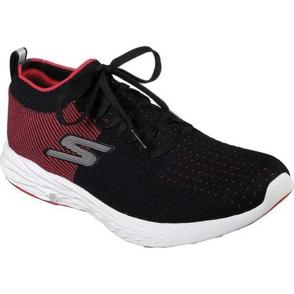 Shop Skechers Men's GOrun 6 Running Shoe BlackRed Free