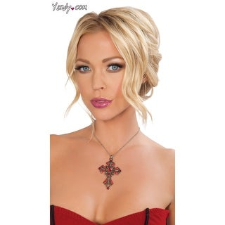 Link to Cross Necklace, Vampire Necklace - As Shown - One Size Fits Most Similar Items in Intimates