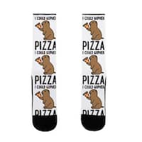 LookHUMAN I Could Gopher Pizza US Size 7-13 Socks