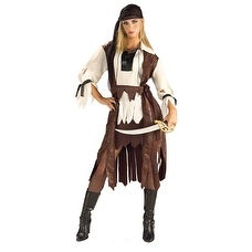 Carribean Pirate Babe Adult Standard Size Costume - standard (10-14)