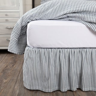 Sawyer Mill Ticking Stripe Bed Skirt