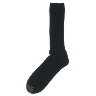 Gold Toe Mens Northport Moisture Control Reinforced Toe Crew Socks - 10-13