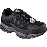 Skechers Men's Work Holdredge Steel Toe Sneaker Black