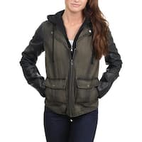 Kenneth Cole Reaction Womens Jacket Winter Coat