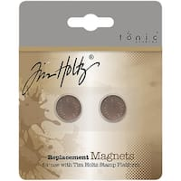 Tim Holtz Stamping Platform Replacement Magnets 2/Pkg-