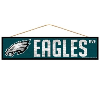 Philadelphia Eagles Sign 4x17 Wood Avenue Design
