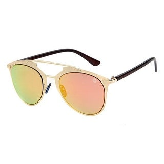 Street Affaries Lazer Sunglasses In Orange - One Size